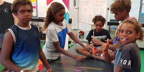 Supporting young people in Australia's indigenous communities